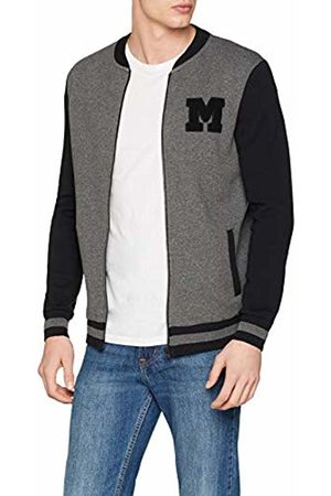 Mavi Men's M Patch Sweatshirt Track Jacket