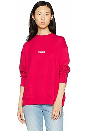 HUGO BOSS Women Sweatshirts - Casual Women's Tastand Sweatshirt, (Bright 626)