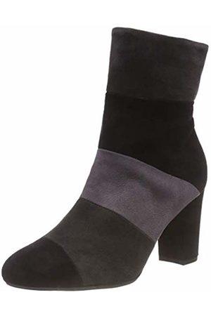 Peter Kaiser Women's KIRA Slouch Boots, (Schwarz Carbon Cinder Suede 786)