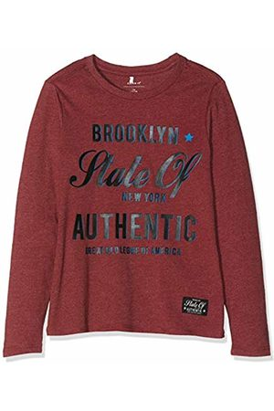 0834149b6 Name it Boys T-shirts - Boy s Nkmrobert Ls Top Long Sleeve (Ruby Wine