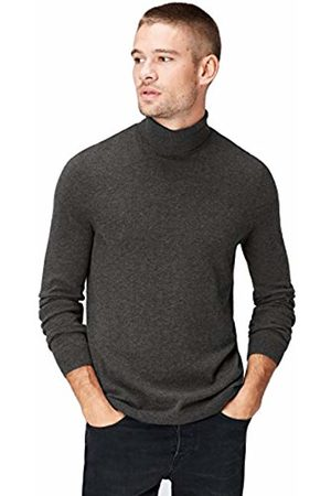 find. FIND Men's Jumper with Merino Wool Mix and Roll Neck