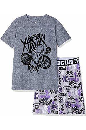Freegun Boy's EG.FGVEL.PSH.MZ Pyjama Sets, /violet
