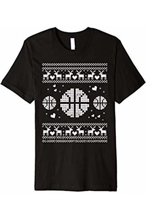 BoredKoalas Ugly Christmas Basketball Shirt Player Sport Xmas Boy Gift