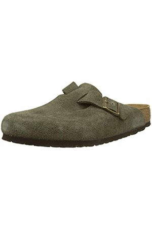 Birkenstock Men's Boston SFB Clogs, Vert Forest
