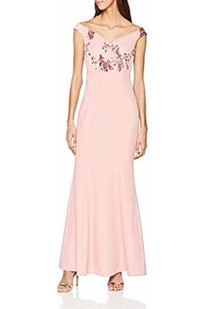 Little Mistress Women's Rose Bardot Maxi Dress