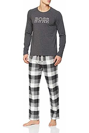 HUGO BOSS Men's Cosy Long Set Pyjama (Medium 036)