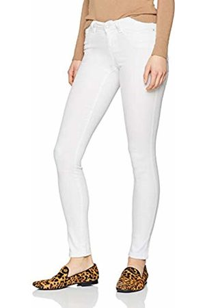 Noisy May Women's Nmeve Lw S.Slim Jeans Gu501 Noos Slim Bright