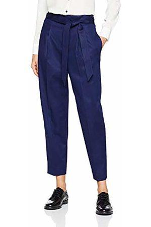 HUGO BOSS Casual Women's Safashy Trouser, (Dark 408)