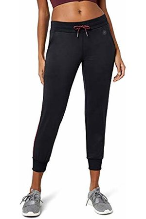 AURIQUE Side Stripe Cropped Sports Trousers, ( /Port Royale)
