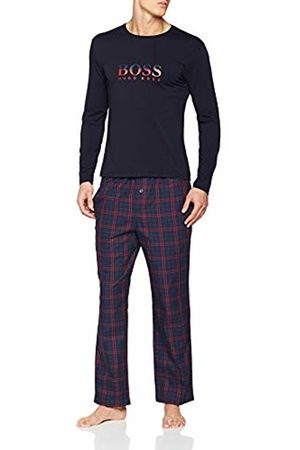 HUGO BOSS Men's Urban Long Set Pyjama (Dark 404)