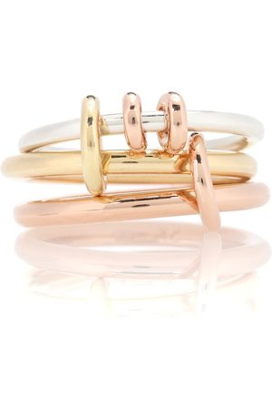 Spinelli Kilcollin Raneth 18kt gold, 18kt rose gold and sterling silver ring