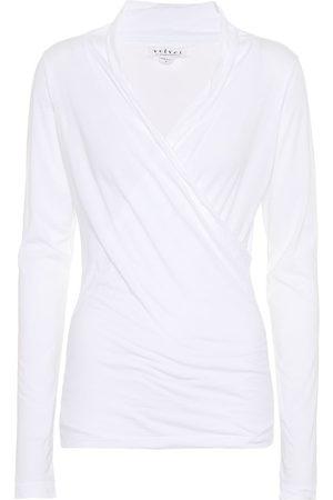 Velvet Meri cotton-blend top