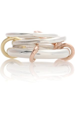 SPINELLI KILCOLLIN Women Rings - Orion sterling and 18k gold linked rings
