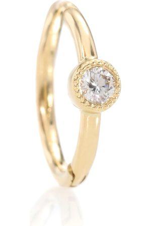 Maria Tash 18kt yellow single earring with diamond