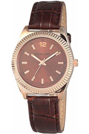 Excellanc Women's Quartz Watch 195237000029 with Leather Strap