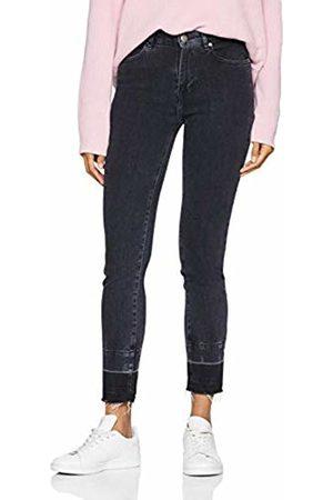HUGO BOSS Casual Women's J11 Murietta Straight Jeans, (Dark 027)
