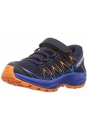 Salomon Kids XA Pro 3D K, Trail Running Footwear, Medieval /Mazarine Wil/Tan