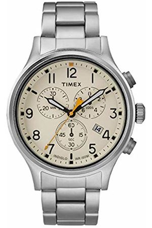 Timex Mens Chronograph Quartz Watch with Stainless Steel Strap TW2R47600