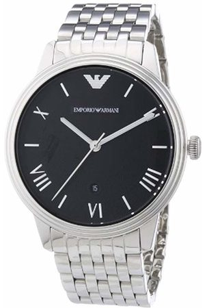 Emporio Armani Men's Analogue Quartz Watch with Stainless Steel Strap AR1614