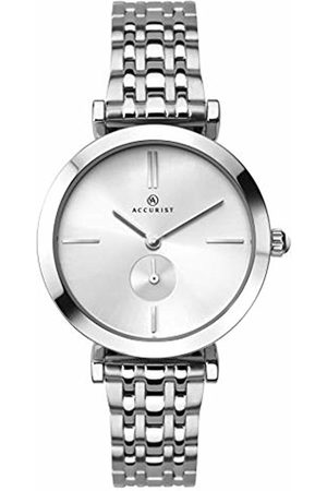 Accurist Womens Analogue Classic Quartz Watch with Stainless Steel Strap 8179.01