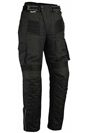 Bikers Gear Australia New Cargo Textile Cordura Waterproof Motorcycle Trousers with Removable Thermal Liner and CE 1621-1 Armour, Vented