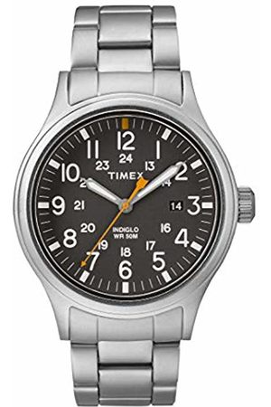 Timex Mens Analogue Classic Quartz Watch with Stainless Steel Strap TW2R46600