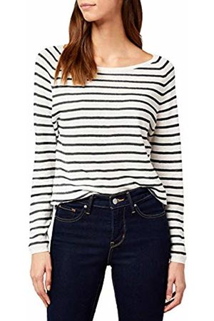Selected Femme Women's Sfnive Stripe Ls Knit Pullover Noos Long Sleeve Top