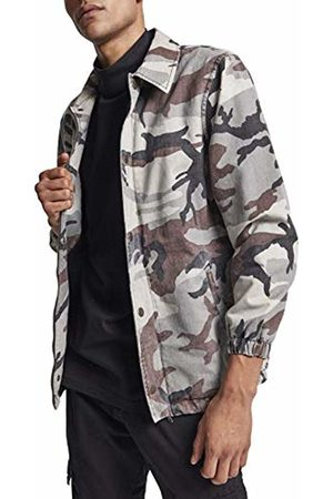 Urban classics Men's Cotton Coach Jacket