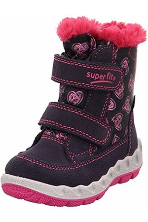 Superfit Girls' Icebird Snow Boots, (Blau/Rosa 80)