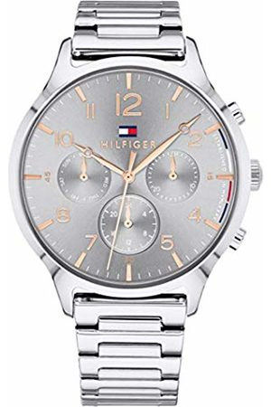 Tommy Hilfiger Unisex-Adult Multi dial Quartz Watch with Stainless Steel Strap 1781871