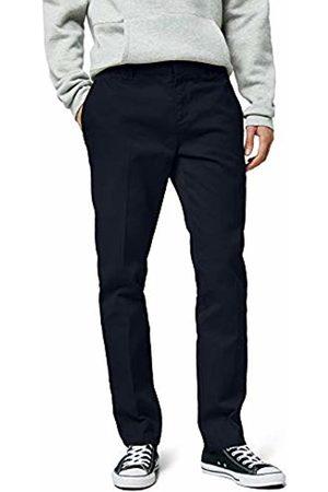 Dickies Men's Pants Slim Fit Work, (Dark Navy Dn)