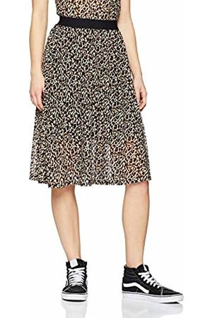 SPARKZ COPENHAGEN Women's 91-01074-04-105 Skirt, (Leopard)