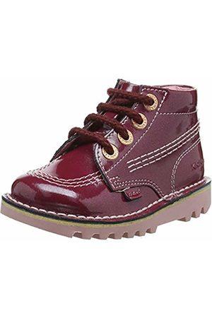 Kickers Baby Girls' Kick Hi Boots, (Tibetan Tbtn Rd)
