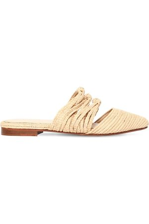 ZYNE 10mm Knots Iii Raffia Mules