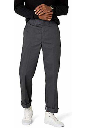 Dickies Men's Original 874 Work Straight Trousers, Charcoal