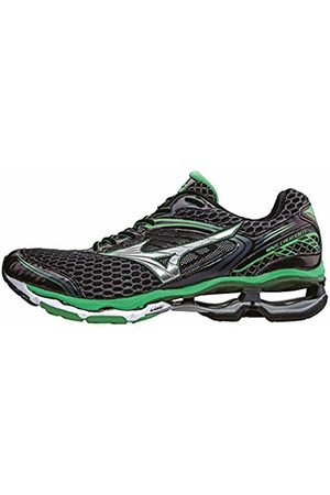Mizuno Wave Creation 17, Men's Competition Running Shoes, (Schwarz/grün)