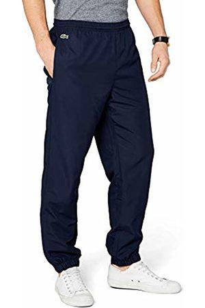 Lacoste Men's Plain Tracksuit Trousers, (Marine)
