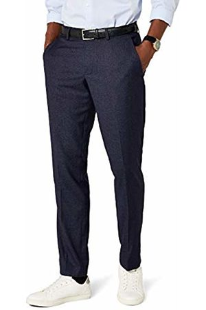 Esprit Collection Men's Premium 037EO2B016 Suit Trousers, (Navy)