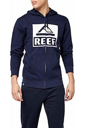 Reef Men's Classic Zip Sta Hoodie, ( Blu)