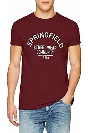 Springfield Men's 4Ca SPF Logo T- Shirt