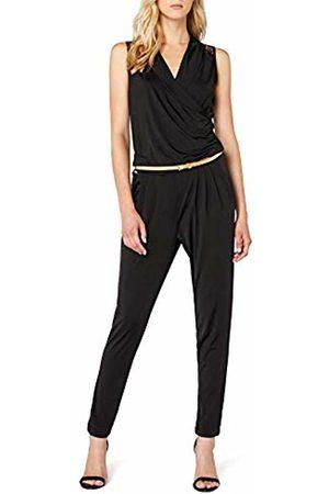 Morgan Women's 152-PRAZI.N Plain Sleeveless Jumpsuit