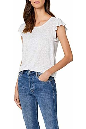 Opus Women's Solliana dot Regular Fit Short Sleeve T - Shirt