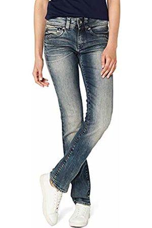 G-Star Women's Midge Saddle Mid Straight Wmn-Amazon Exclusive Style Jeans