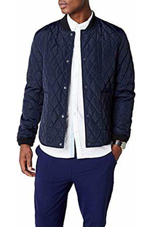 Esprit Men's 087ee2g008 Jacket, (Dark 405)