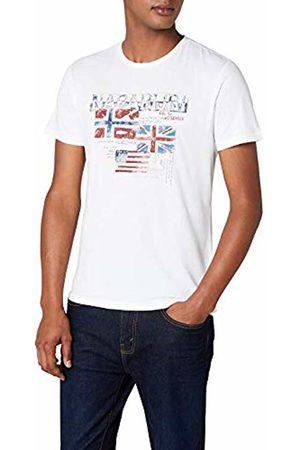 Napapijri Men's Syros T-Shirt, (Bright 002)