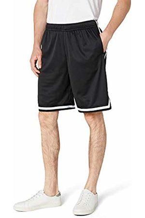 Urban classics S Men's Stripes Mesh Shorts plain Short