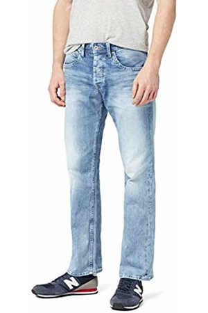 Pepe Jeans Men's Jeanius-016 Straight-016 Jeans, Blue (Denim 000-S55)
