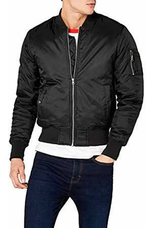 Urban classics Men's Basic Bomber Jacket Schwarz ( 7)
