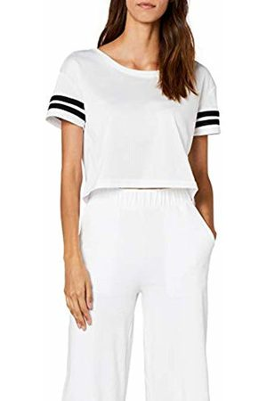 Urban classics Women's Ladies Mesh Short Tee T-Shirt
