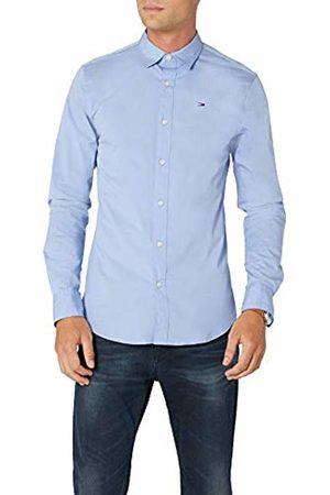 Tommy Hilfiger Men's Original Stretch Slim Fit Classic Casual Shirt